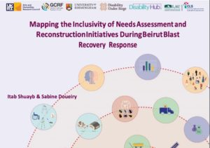 image of front cover of Beirut blast mapping report