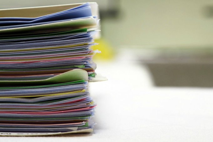 photo of stacked academic papers